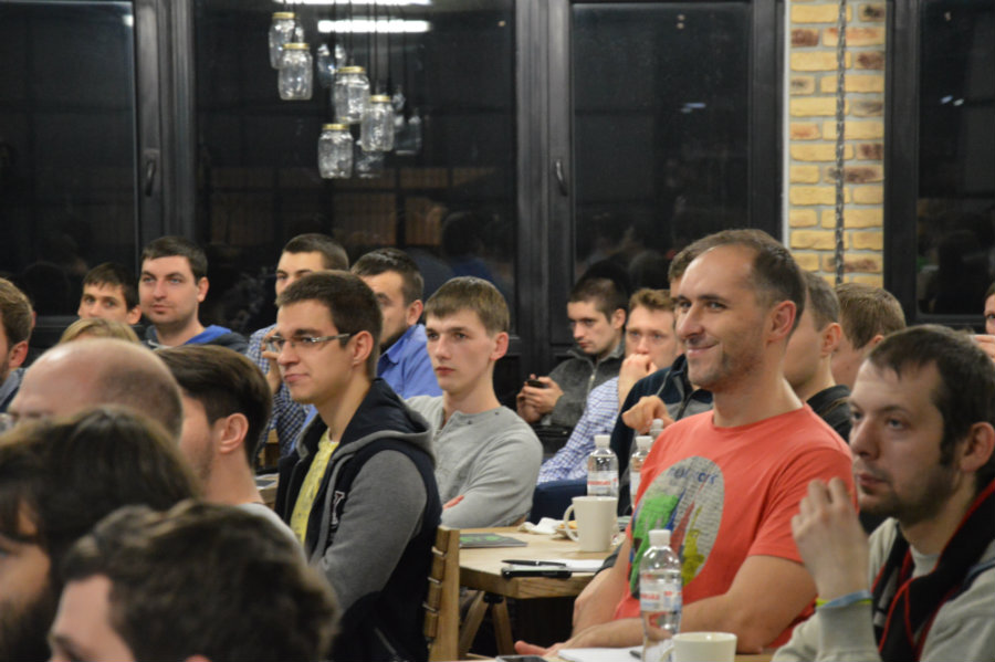 LoGeek Night Kiev attendees