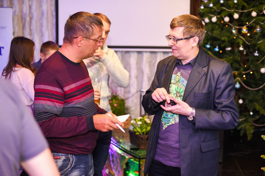 LoGeek Night, Omsk discussion